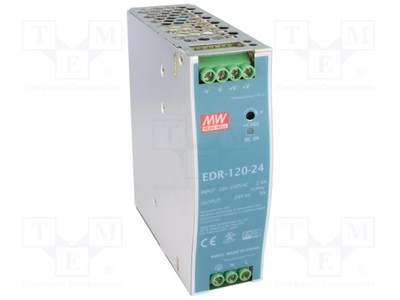 120-48VDC DIN-RAIL Power Supply